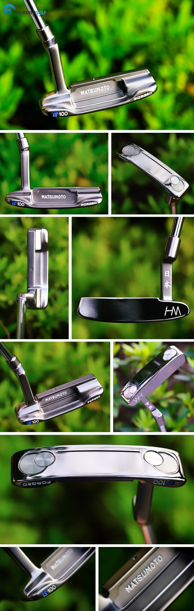 Hiro Matsumoto 100 Forged Putter by Golds Factory