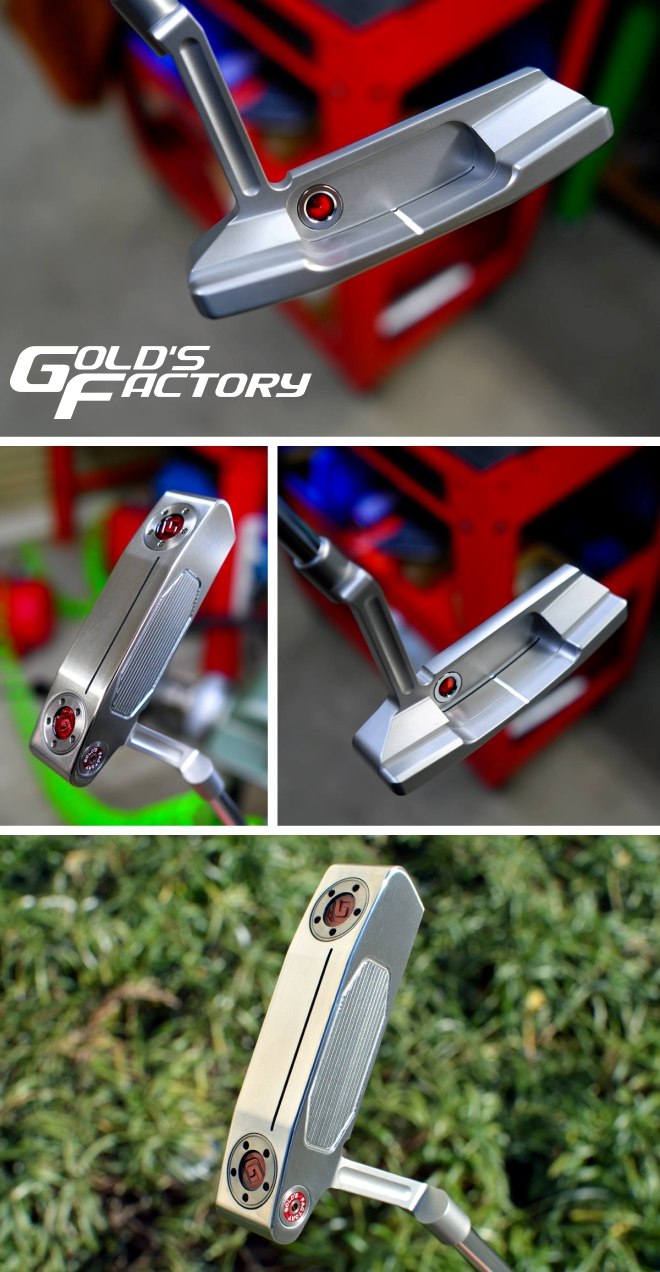 Gold's Factory Newport 2 GSS Replica Putter