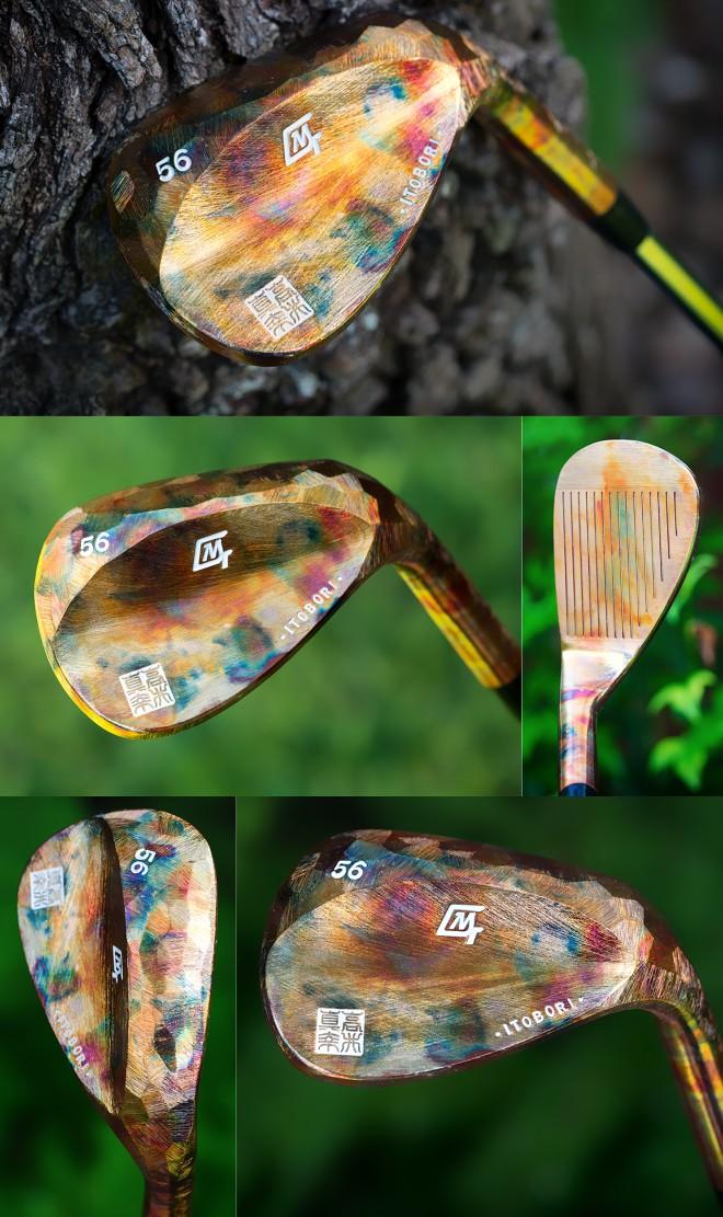 Itobori Burning Copper Wedge
