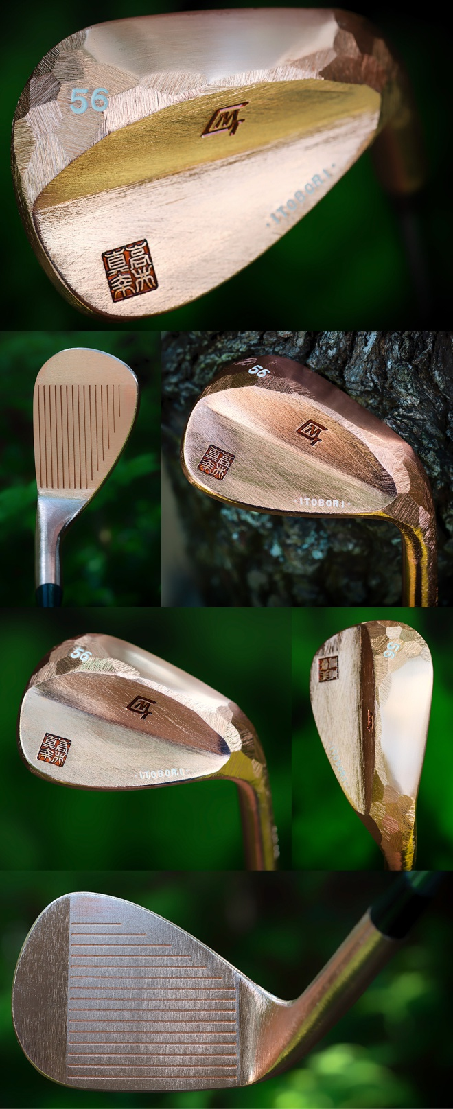 Itobori Copper Wedge