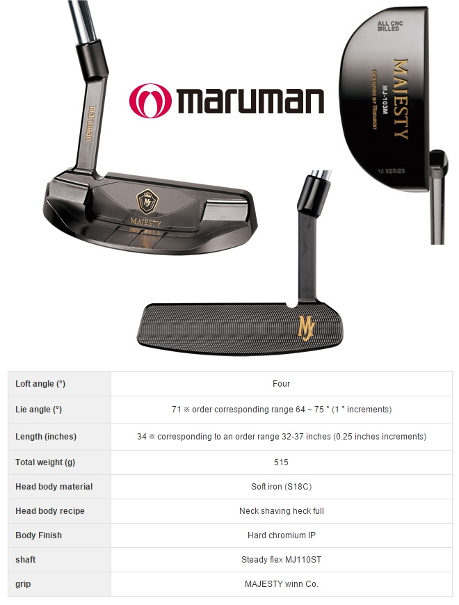 Maruman Majesty 103M Putter
