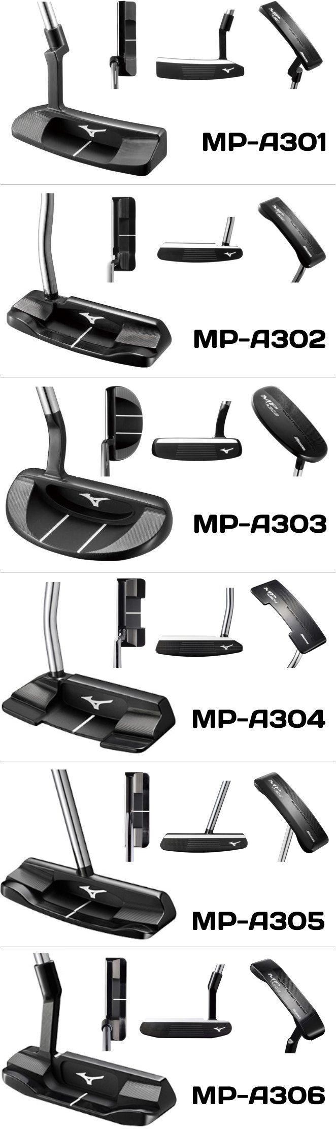 Mizuno MP A Series Putter