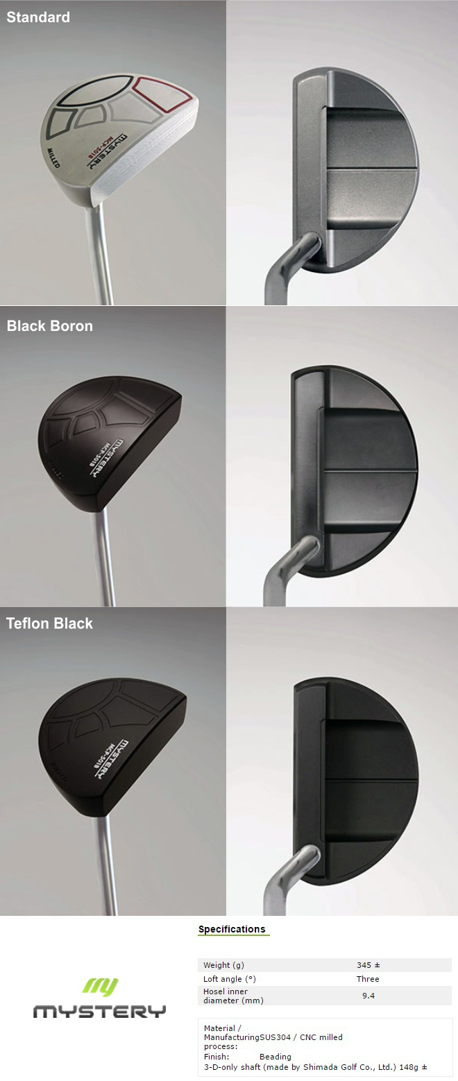 Mystery MCP-501 Mallet Putter