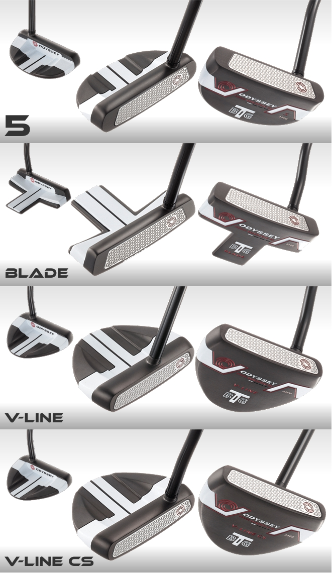 Odyssey Works Big T Putter