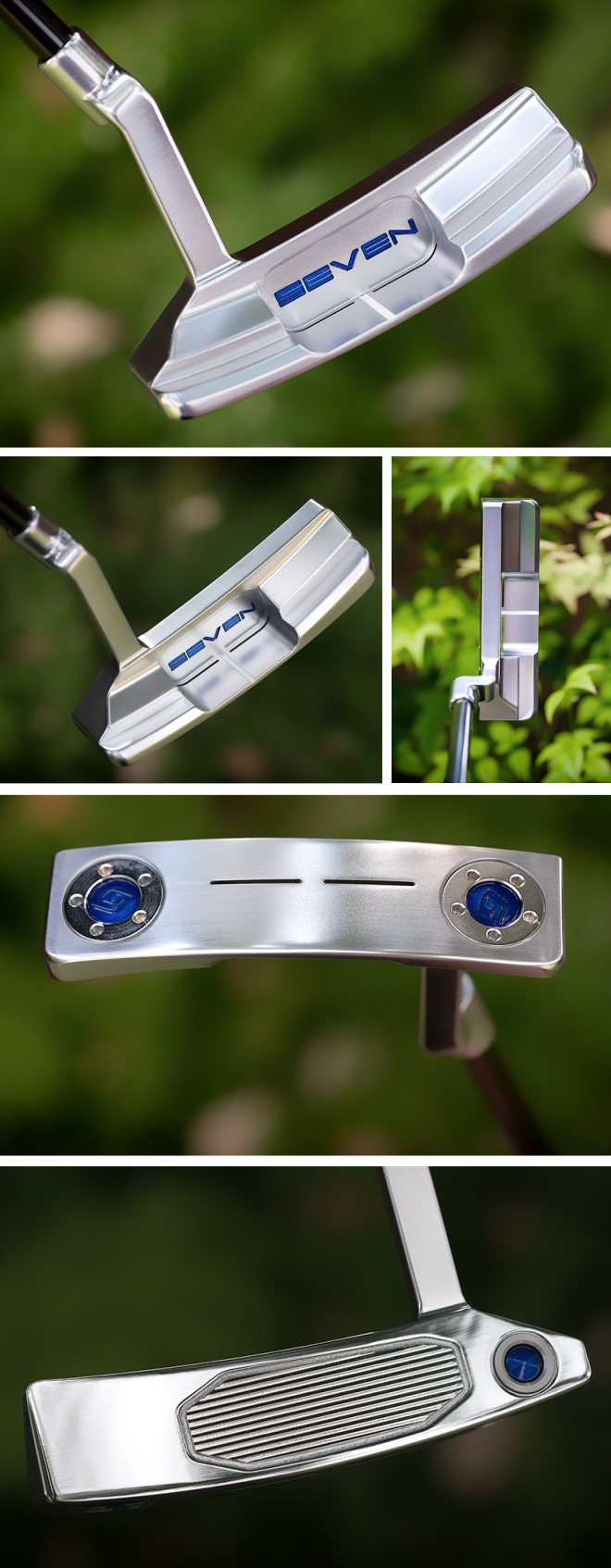 SEVEN SH Series Golds Factory Modified Putter