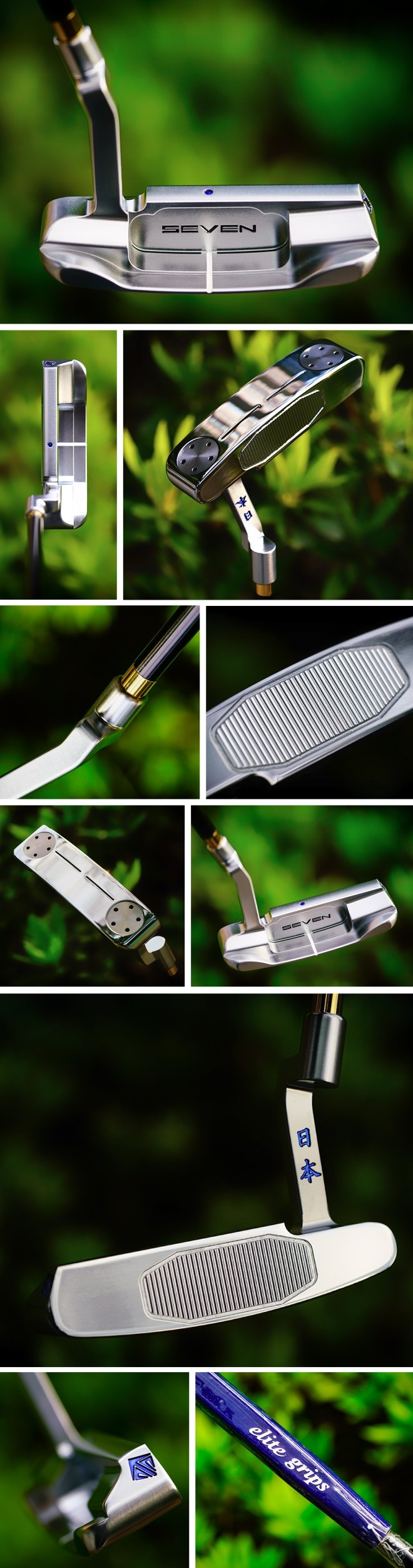 Seven X Golds Factory Dual Slit Putter