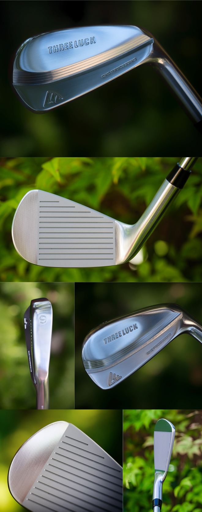 Three Luck Muscle Back Blade Irons